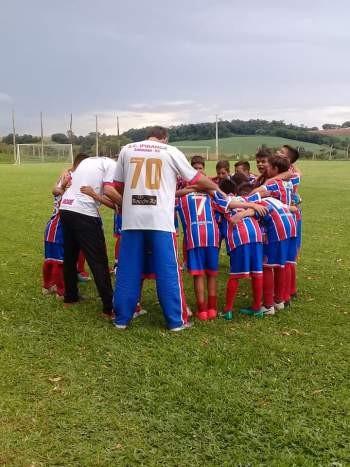 Esporte Clube Ipiranga conquista o quarto lugar na Taça Frederiquense de futebol com a categoria SUB 12.