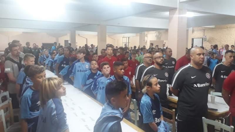 Sarandi - Realizada a abertura oficial da 3ª Copa Sarandi Sub 12 de Futebol de Campo